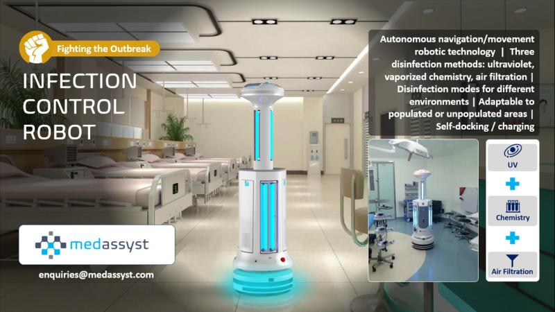 infection control system robot